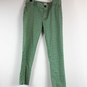 HOST PICK*Banana Republic Green/ Black Ankle Pants